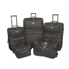 <strong>American Flyer</strong> Pemberly Buckle 5 Piece Luggage Set