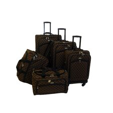 Madrid 5 Piece Spinner Luggage Set