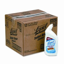 Professional Brand Disinfectant Power Toilet Bowl Cleaner, 32 oz., 12/Case