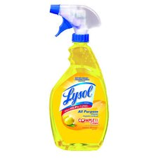 <strong>Lysol</strong> 1 Qt. Trigger Spray Bottle Lemon Scent All-Purpose Cleaner (12 bottles)