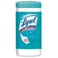 """7"""" W x 8"""" L Spring Waterfall Disinfecting Wipes in White"""