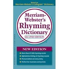 Merriam Webster Rhyming Dictionary