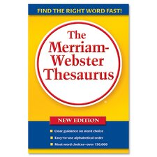 """Thesaurus, 5-3/4""""x8-1/2"""", Paperback, 688 Pages"""