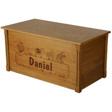 Oak Little Critters Toy Box