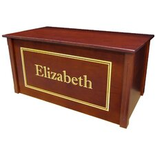 Dark Cherry Toy Box With Shadow Bold Font