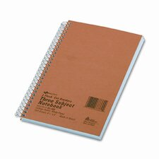 3-Subject Wire bound Notebook, 150 Sheets