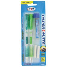 Clear Point Mechanical Pencil Kit (Set of 6)