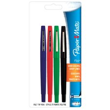 Assorted Colors Flair Felt Tip Pen (Set of 4)