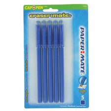 5 Count Paper Mate Eraser Mate 2 in Blue (Set of 6)