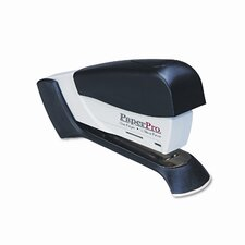 Compact Stapler, 15 Sheet Capacity, Black/Gray