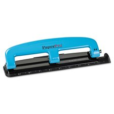 12-Sheet Capacity Compact 3-Hole Punch