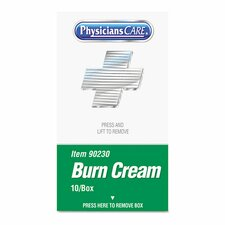 <strong>PhysiciansCare®</strong> Xpress First Aid Refill Kit of Burn Cream (Set of 10)