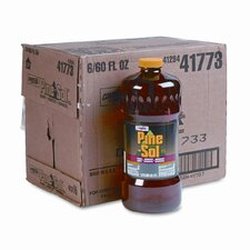Pine-Sol Cleaner Disinfectant Deodorizer, 60oz. Bottles, 6/carton