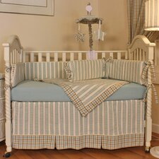 <strong>Hoohobbers</strong> Spa Blue Crib Blanket