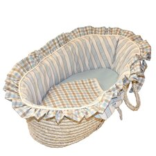 <strong>Hoohobbers</strong> Spa Blue Moses Basket