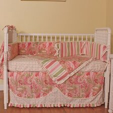 Paisley 4 Piece Crib Bedding Set