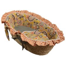 Flirty Flowers Moses Basket