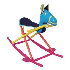 <strong>Hoohobbers</strong> Personalized Rocking Horse in Calypso