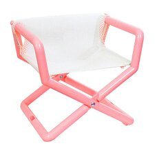 Personalized Junior Director Chair in Pastel Mesh