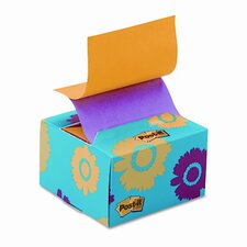 Pop-Up Note Pad in A Desk Grip Decorative Box, 3 X 3