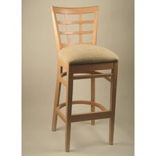 "24"" Lattice Back Counter Stool"