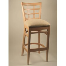 "30"" Lattice Back Barstool"