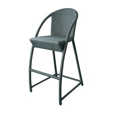 "Resin Wicker 30"" Bar Stool"