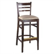 "Diana 30"" Bar Stool with Cushion"