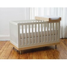 Classic Crib and Changer Nursery Set