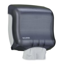 "C-Fold Towel Dispenser, 11-1/2""x6""x11-1/2"", Black/Pearl"