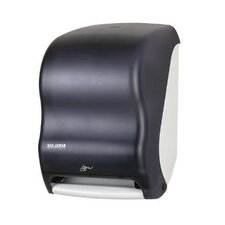 Smart System with IQ Sensor Towel Dispenser in Black Pearl