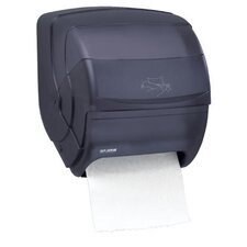 <strong>San Jamar</strong> Integra Lever Roll Towel Dispenser in Black