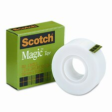"Magic Office Tape, 1"" x 36 Yards, 1"" Core, Clear"