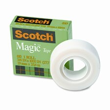 "Magic Office Tape, 3/4"" x 28 Yards, 1"" Core, Clear"