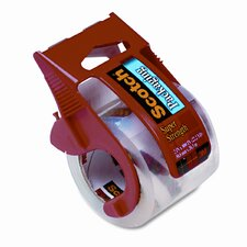 """Packaging Tape in Dispenser, 2"""" x 22 Yards, Clear"""