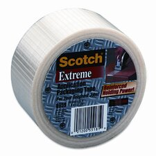 "Extreme Application Packaging Tape, 2"" x 55 Yards, 3"" Core"