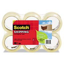 "<strong>Scotch®</strong> 1.88"" x 49.2 Yards Greener Commercial Grade Packaging Tape (Pack of 6)"