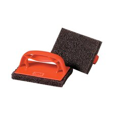 Scotch Brick Griddle Scrubber in Red and Brown