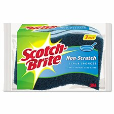 Non-Scratch Multi-Purpose Scrub Sponge (Pack of 3)