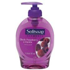 Elements Liquid Hand Soap Black Raspberry and Vanilla Scent Pump Bottle - 7.5-oz.