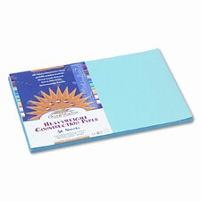 <strong>Pacon Corporation</strong> SunWorks Construction Paper, Heavyweight, 12 x 18, Sky Blue, 50 Sheets