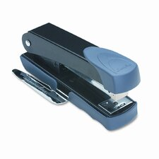 Compact Stapler with Remover and Label Holder