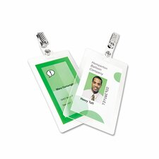 GBC SelfSeal ID Badge Laminating Pouch (Pack of 10)