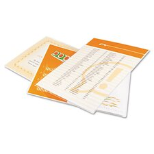 3200587 GBC HeatSeal Letter Laminating Pouch (Pack of 100)