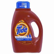 Ultra Liquid Tide Laundry Detergent, 50 oz Bottle, 6 per carton