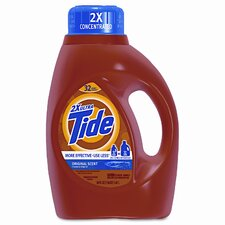 Ultra Liquid Tide Laundry Detergent, 50 oz Bottle, 6 per carton