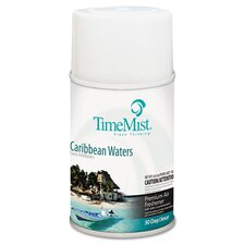 Metered Fragrance Dispenser Refill with Caribbean Waters Scent