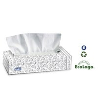 Advanced Facial Tissue in White