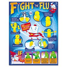 Fight The Flu Learning Chart, 12/Pack