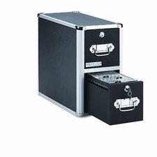 <strong>Vaultz®</strong> 2 Drawer CD File Cabinet
